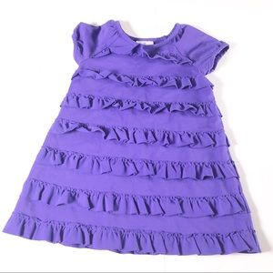 Hannah Andersson | Purple Ruffle Dress Size 3